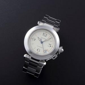 Lot#2217 Cartier Pasha Automatic  Date