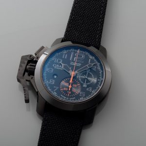 Lot#PS3006 Graham Oversize Chronofighter // 2CCAU.B01A