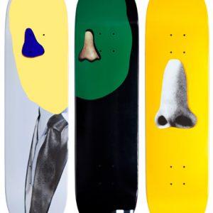 Lot #PS001 John Baldessari Skateboards