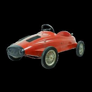 Lot #2978 Vintage Ferrari Child's Toy Pedal Car by Giordani