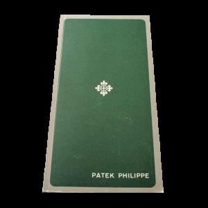 Patek Philippe Booklet Ricochet 788/4 Solar Clocks and