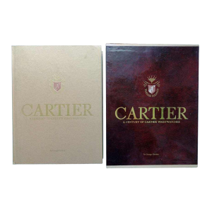 Cartier Wristwatches Book by George Gordon