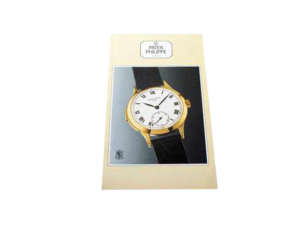 Rare Patek Philippe Minute Repeater 3939 Owners Manual