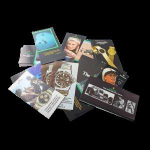 Rolex Brochures Cosmograph 6263 6265 Explorer 1016 1655