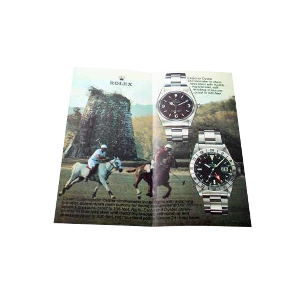 Lot #AN39 Rolex Brochures Cosmograph 6263 6265 Explorer 1016 1655