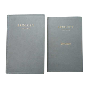 Breguet 1747 - 1823 Book By Sir David Lionel Salomons