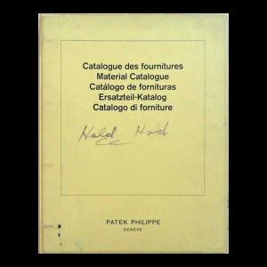 Patek Philippe Master Parts Material Manual Catalogue