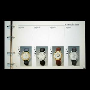 Vintage Vacheron Constantin Master Dealer Watch Catalog