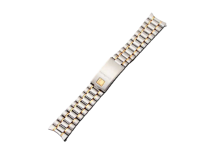 Steel and Gold Omega Speedmaster Watch Bracelet