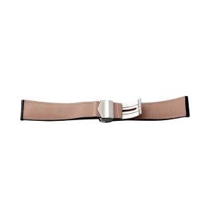 Tag Heuer Leather Strap with Stainless Steel Deployant