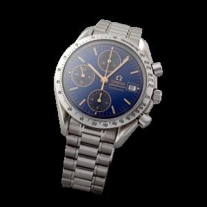 Special Edition Cobalt Blue Omega Speedmaster Date