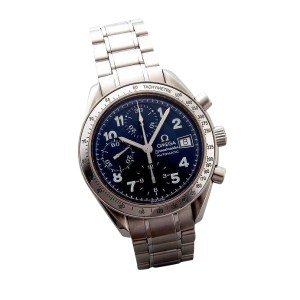 Special Edition Blue Arabic Omega Speedmaster Date