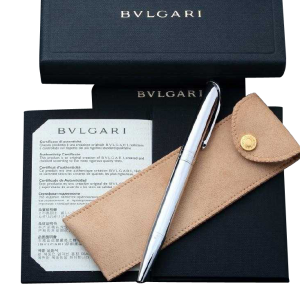 Bvlgari Pen with Box and Papers