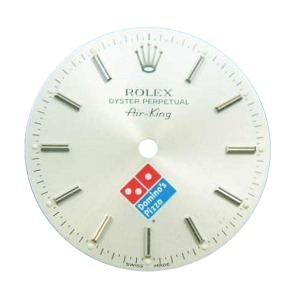 Rare Rolex Air-King Domino`s Pizza `Swiss Made` Logo