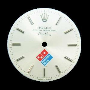 Rare Rolex Air-King Domino`s Pizza `Swiss Made` Logo