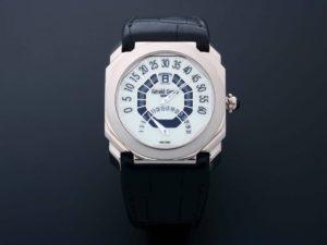 18k White Gold Gerald Genta Octo Bi Retro Watch OBR.Y.60 - Baer & Bosch Auctioneers