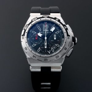 Bvlgari Diagono X-Pro GMT Chronograph Watch 101734 DP 45 8TV CH GMT - Baer & Bosch Auctioneers