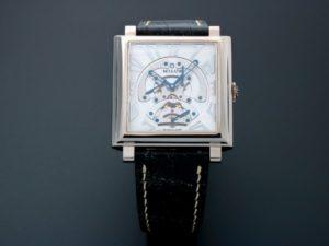 Milus Herios TriRetrograde White Gold Watch HERT301 - Baer & Bosch Auctioneers