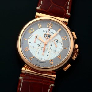 Milus Zetios Chronograph Watch Rose Gold ZETC401 - Baer & Bosch Auctioneers