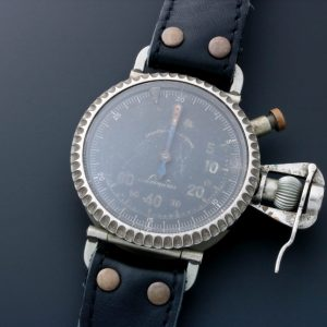Leonidas Oversized Military Pilot Watch - Baer Bosch Auctioneers