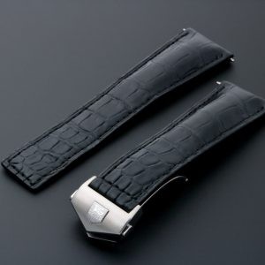 Tag Heuer Leather Watch Strap 22MM - Baer Bosch Auctioneers