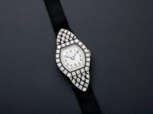 Breguet Platinum Diamond Art Deco Watch - Baer Bosch Auctioneers