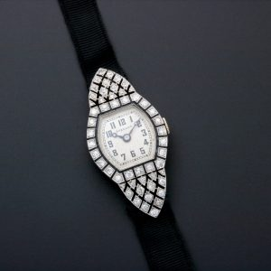 Breguet Platinum Diamond Art Deco Watch - Baer Bosch Auctioneers