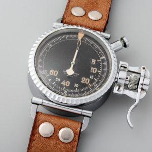 Universal Geneve A. Cairelli Countdown Timer Pilot Watch - Baer Bosch Auctioneers