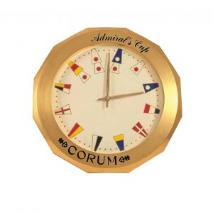 Corum Admirals Cup Dealer Display Clock - Baer Bosch Auctioneers