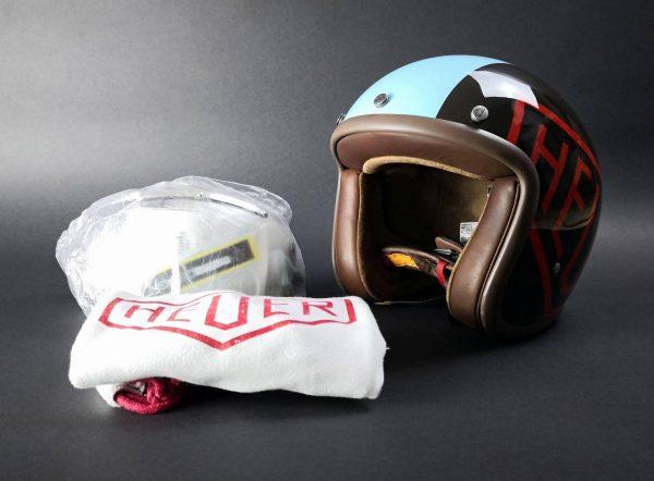Tag Heuer Monaco McQueen Motorcycle Helmet - Baer Bosch & Auctioneers