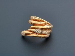 Audemars Piguet Givrine Rose Gold Diamond Ring BG0684-ORM-SS-Z000 - Baer & Bosch Watch Auctionsd Ring BG0684-ORM-SS-Z000_1