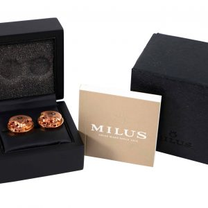 Milus Watch Rotor Cufflinks CUF053 - Baer Bosch Auctioneers