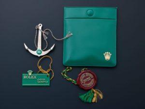 Lot #AN3128 – Rolex Green Dot Anchor Hang Tags Pouch