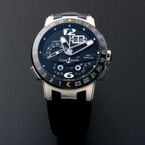 Ulysse Nardin El Toro Perpetual Calendar GMT Watch 320-00 - Baer & Bosch