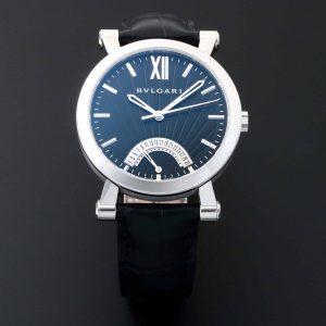 Bvlgari Sotirio Retrograde Date Watch 101706 SB42BSLDR-BS/SCR - Baer & Bosch