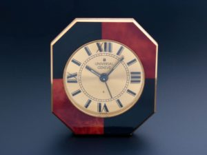 Universal Geneve Travel Table Alarm Clock - Baer Bosch Auctioneers