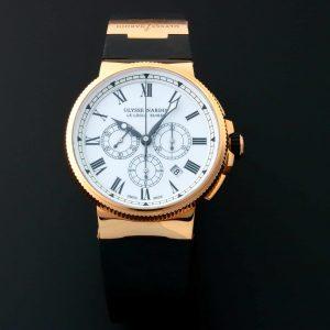 Ulysse Nardin Marine Chronograph Watch 1506-150-3/LE - Baer & Bosch