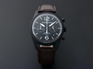 Bell & Ross Original Carbon Chronograph Watch BRV126-BL-CA-SCA-2 - Baer & Bosch Auctioneers