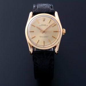Rolex Bombay 14k Yellow Gold Watch 1010 - Baer & Bosch Auctioneers