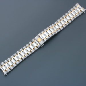 Omega Speedmaster Tutone Watch Bracelet 18MM 1489 813 - Baer & Bosch Auctioneers