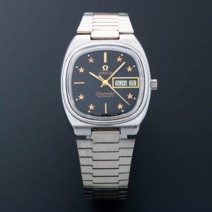 Omega Seamaster Day Date Star Dial Watch 166.0213 - Baer & Bosch Auctioneers