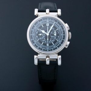Omega Museum Pilot 18k White Gold Watch 516.53.38.50.01 - Baer & Bosch Auctioneers