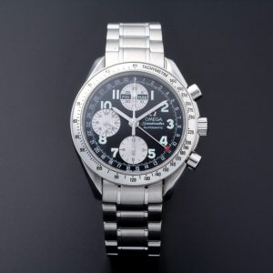 Omega Speedmaster Triple Calendar Black Grey Japanese Market Watch 3523.51 - Baer & Bosch Auctioneers
