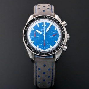 Omega Speedmaster Reduced Schumacher Blue Watch 3510.81 - Baer & Bosch Auctioneers