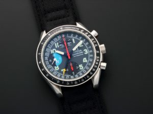 Omega Speedmaster Triple Calendar Mark 40 AM PM Watch 3520.53 - Baer & Bosch Auctioneers