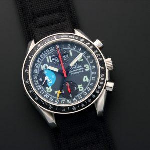 Omega Speedmaster Triple Calendar Mark 40 AM PM Watch 3520.53 - Baer & Bosch Auctioneers