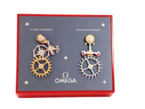 Omega Moving Display Co-Axial Escapement VS Swiss Lever Escapement Machine - Baer & Bosch Auctioneers