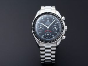 Limited Edition Omega Speedmaster A.C. Milan Watch 3510.51 - Baer Bosch Auctioneers