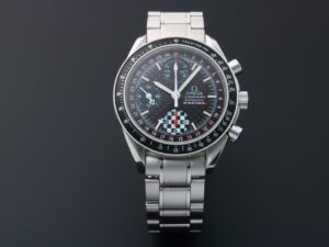 Omega Speedmaster Triple Calendar Michael Schumacher Watch 3529.50 - Baer & Bosch Auctioneers