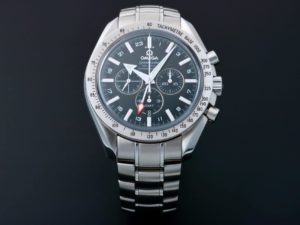 Omega Speedmaster Broad Arrow GMT Watch 3581.50 - Baer Bosch Auctioneers